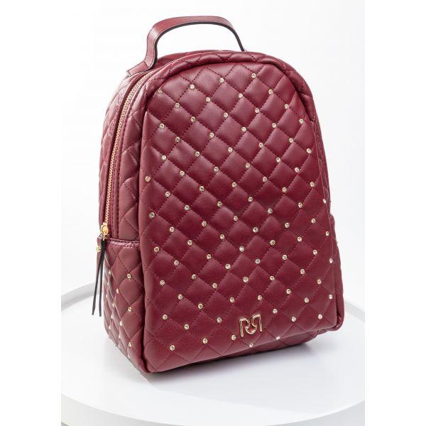 Рюкзак женский Rinacemento-BORDO