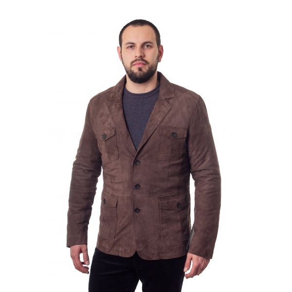 Куртка кожанная State of Art 789-17527-8900