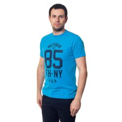 футболка мужская Tommy Hilfiger-10695 blue