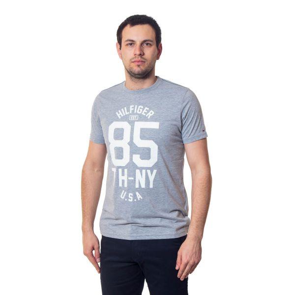 футболка мужская Tommy Hilfiger-10695 grey