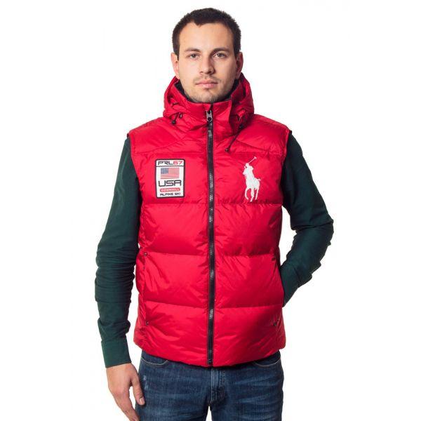 Жилет мужской POLO Ralph Lauren-RED