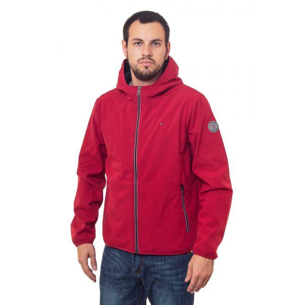 куртка мужская Tommy Hilfiger (Windstoper)-RED