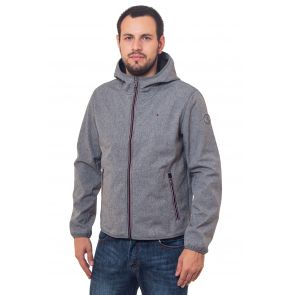 куртка мужская Tommy Hilfiger (Windstoper)-GREY